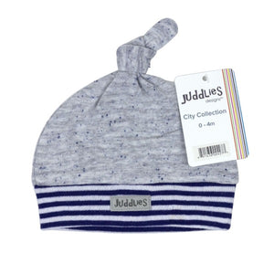 Juddlies Newborn Hat - Bay St Blue