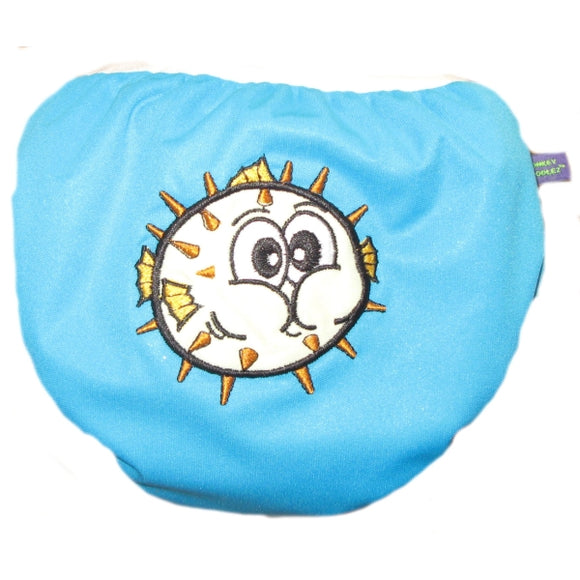 Swim Diaper Puffy Blowfish Small