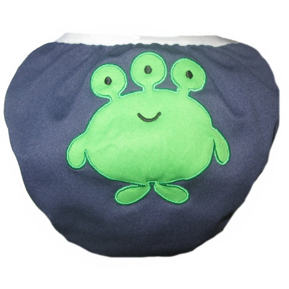 Swim Diaper Monster Small