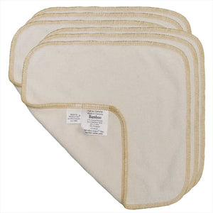 Terry Wipes- Bamboo 6 Pk