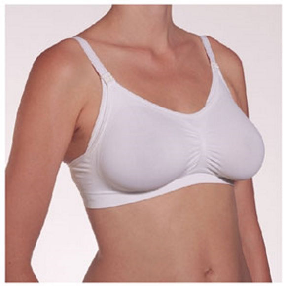 Nursing Bra White Small