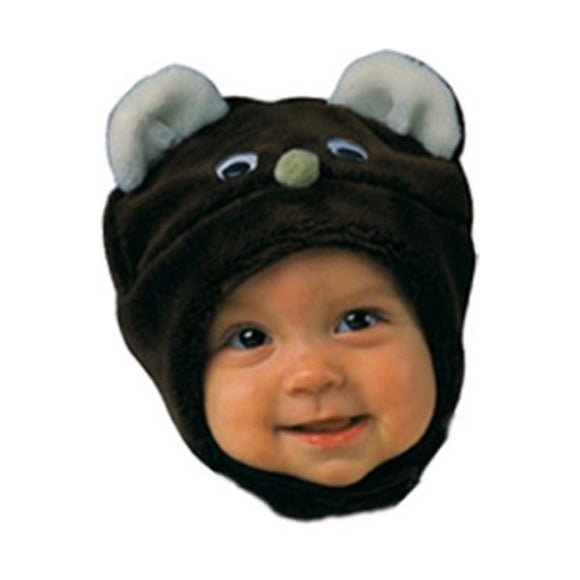 Winter Hat - Brown Bear 6-12 M