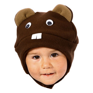 WINTER HAT - BEAVER 0-6 M – Diapers n  More 6f2c066b26c