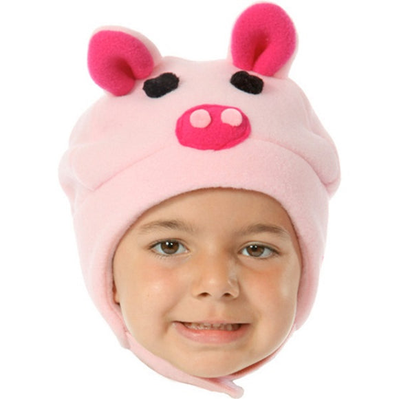 Winter Hat - Piggy Princess
