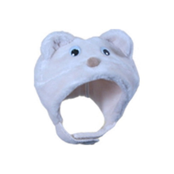 Winter Hat - Polar Bear 6-12 M