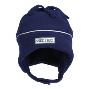 Winter Hat - Reflective - Navy - 1-2 Yrs