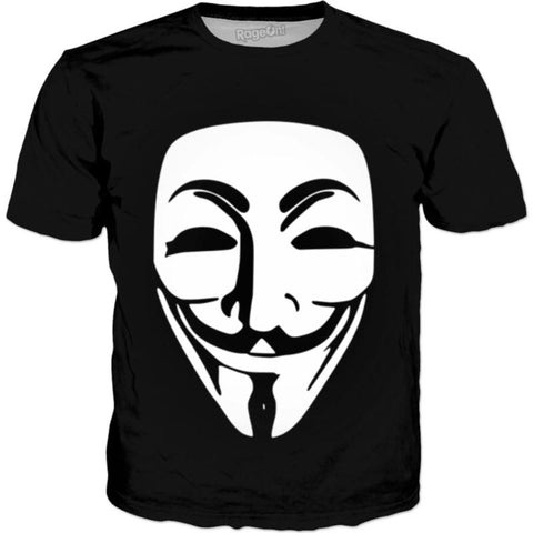 White Guy Fawkes (ALL PRODUCTS)
