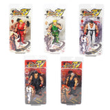 18cm NECA Street Fighter Ken Ryu Guile PVC Action Figure Collectible Model Toy