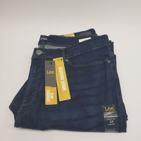 Lee Slimming Fit Slim Straight Jean Select Size Model 351789