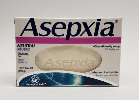 Asepxia | Neutral Cleansing Soap Bar  | 4 oz
