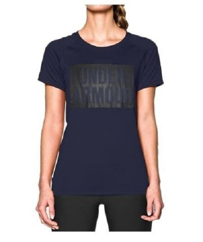 Under Armour 1291650 | Woman T-Shirt | Navy Blue | Medium