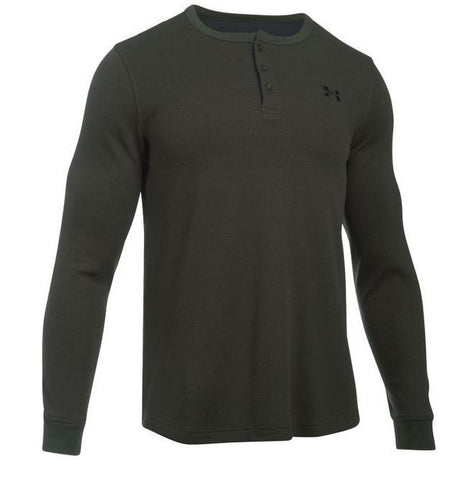 Under Armour 1281316 | Men's Long Sleeve Shirt Army | Green | Small