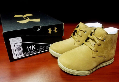 Under Armour 1289003 | Men's Boys Boot Nubuck | Light Brown | 11K