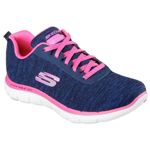 Skechers 12753 | Woman's Sneaker Sports | Navy Pink Color | Size 6