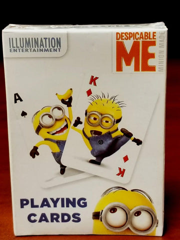 Despicable Me Minions Playing Cards New Deck Cardinal Illumination Entertainment