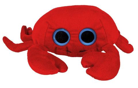 Puzzled Big Eye Red Crab Plush 6 inch Model 5239