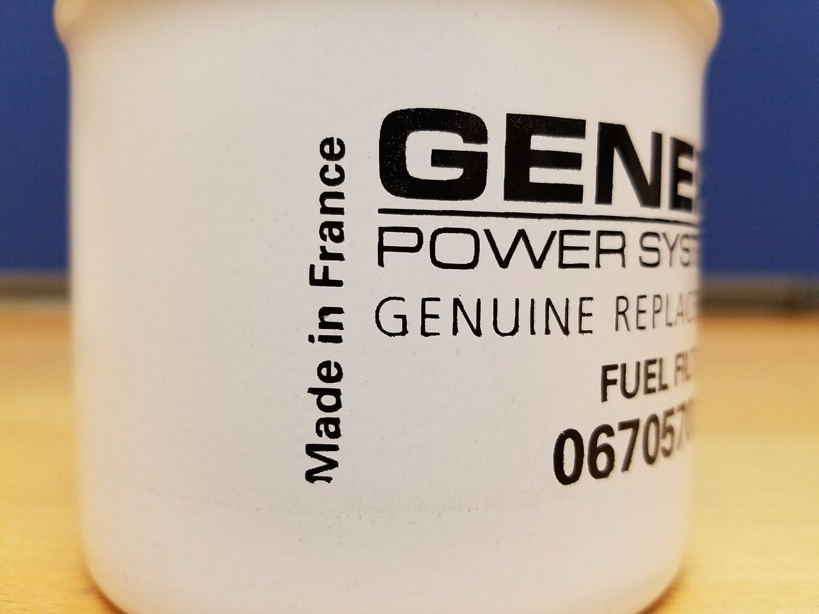Generac Power Systems Fuel Filter Element 0670570363 Import Trade Corp Small Engine Installation Generator 1