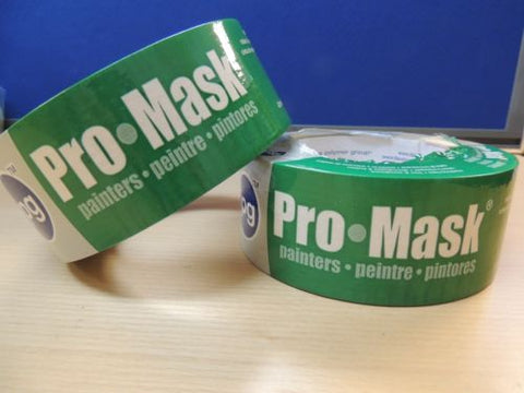 Pro-Mask Masking Tape 5204-2 by IPG 2 x 60 yd NEW Sealed - PK OF 2
