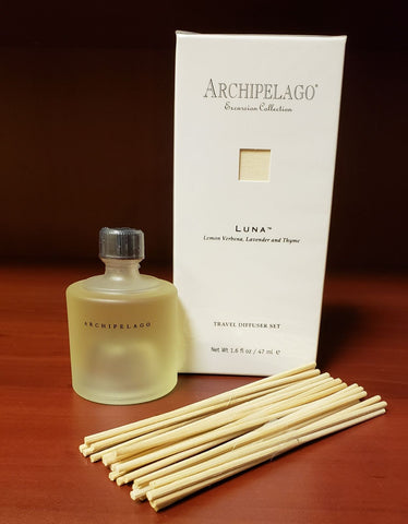Archipelago Excursion Travel Diffuser Luna Lemon Verbena, Lavender and Thyme - 1