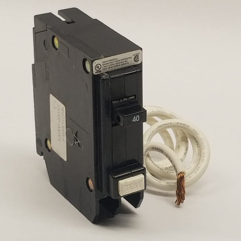 Eaton GFCB140 40 Amp, 1-Pole, Type BR Ground Fault Circuit Breaker