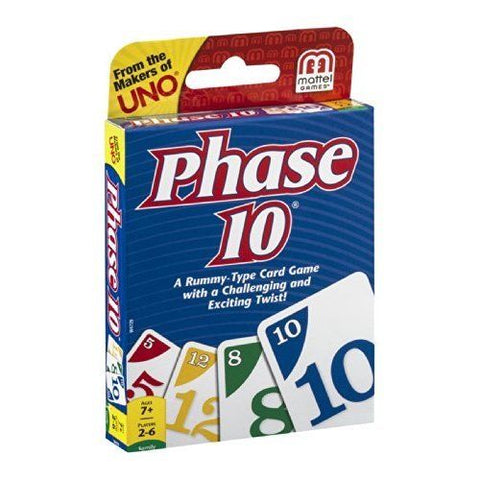 UNO Card Phase 10 Game