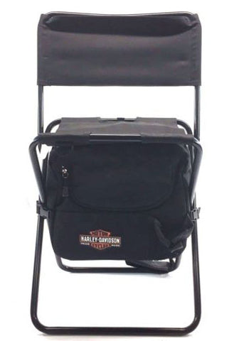 Harley Davidson Genuine Black folding travel cooler chair Mod 94500152