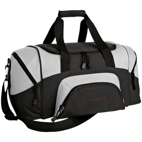 Small Colorblock Sport Duffel Bag redback - DVD MODA