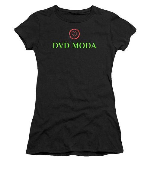 Dvd Moda - Women's T-Shirt (Athletic Fit) - DVD MODA