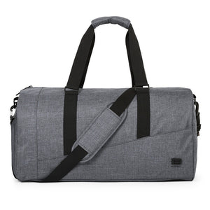 BAGSMART Men Travel Bag Large Capacity Carry on Luggage Bag Nylon Travel Duffle Shoe Pocket Overnight Weekend Bags Travel Tote - DVD MODA