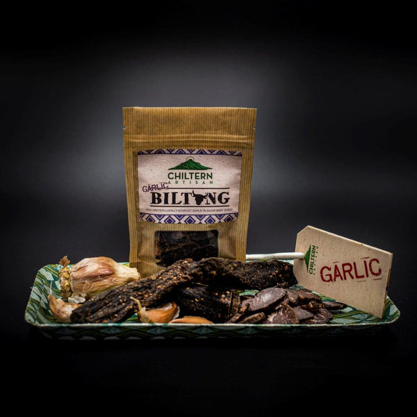 Beef Biltong Garlic Grab and Go Packs