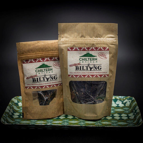 Venison Biltong Grab and Go Packs