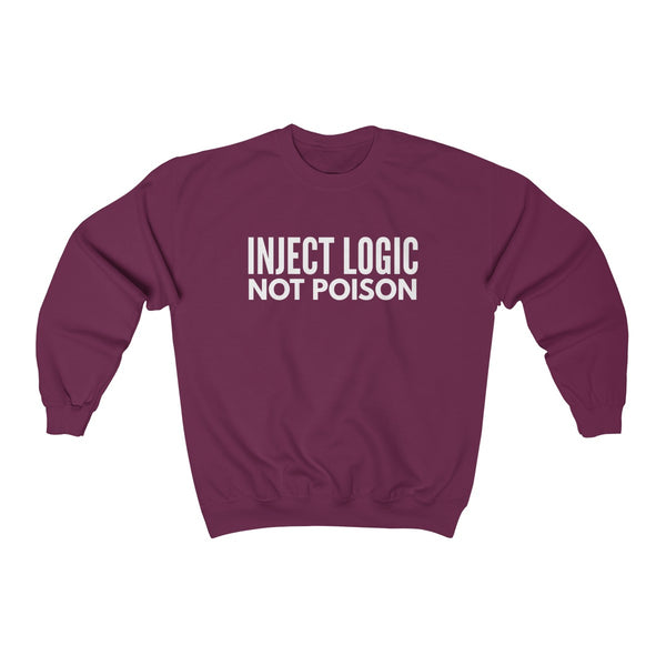 SWEATSHIRT + LOGIC NOT POISON