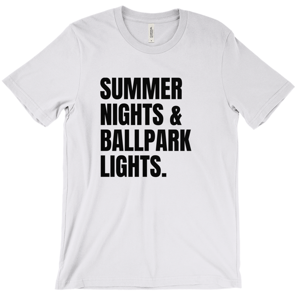 T-SHIRT + SUMMER NIGHTS
