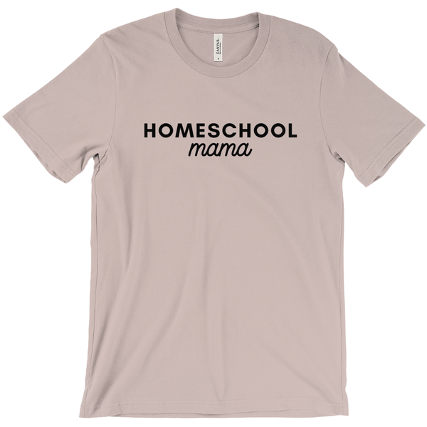 T-SHIRT + HOMESCHOOL MAMA