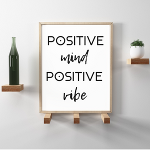 PRINTABLE ART + POSITIVE MIND