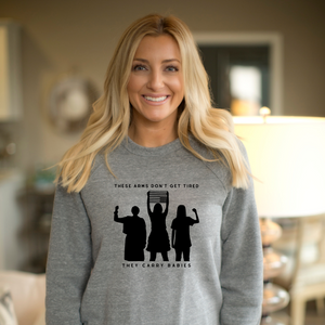 SWEATSHIRT + WARRIOR WOMEN