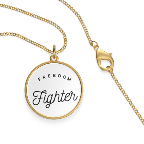 NECKLACE + FREEDOM FIGHTER