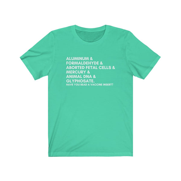 T-SHIRT + INGREDIENTS II