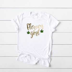 T-SHIRT + FLOWER GIRL