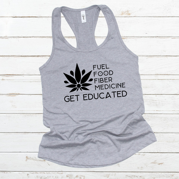 FITTED TANK + HEMP EDUCATED