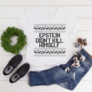 T-SHIRT + EPSTEIN CHRISTMAS