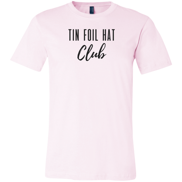 T-SHIRT + TIN FOIL HAT CLUB