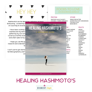eBOOK + WHOLE BODY HEALING HASHIMOTOS