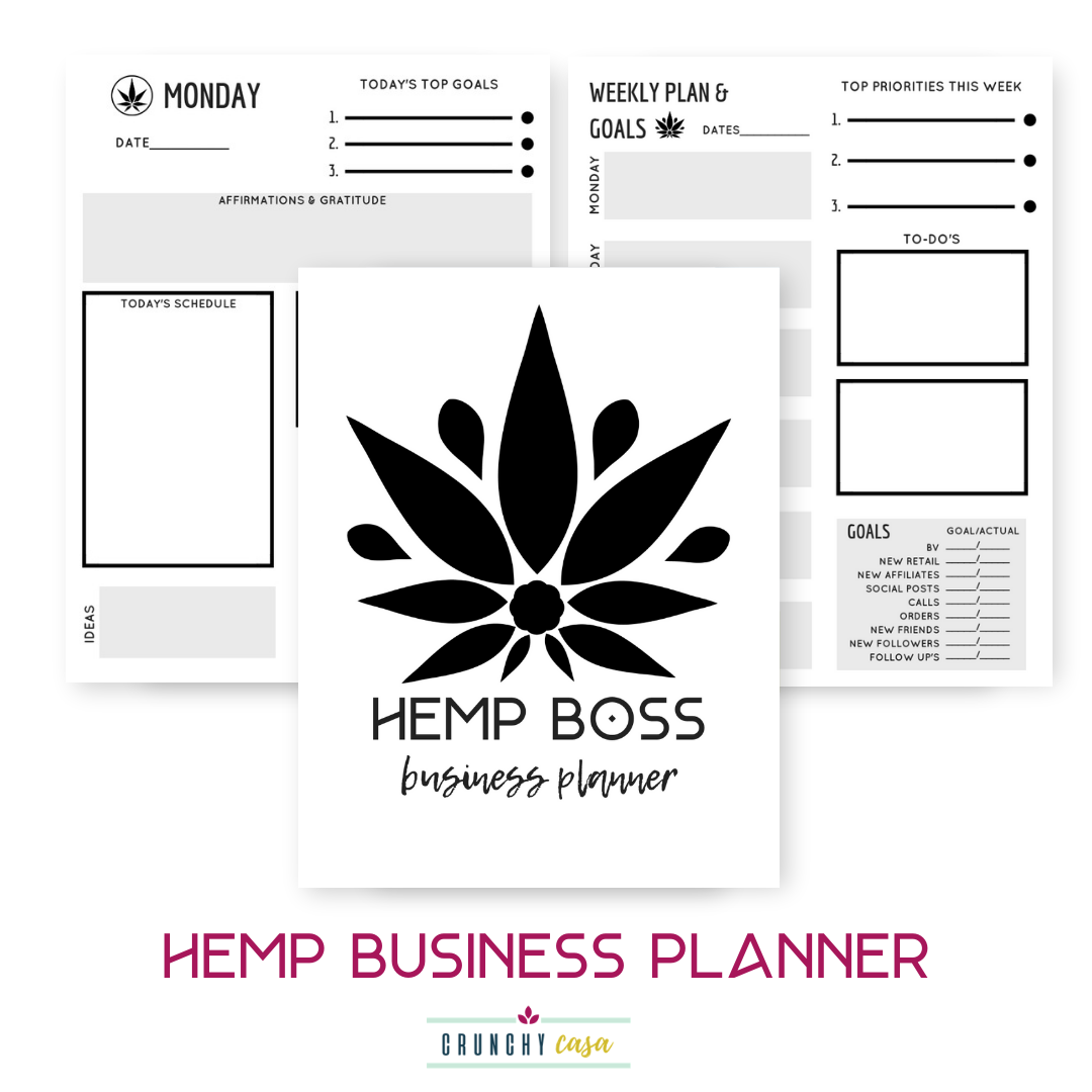HEMP BOSS BUSINESS PLANNER