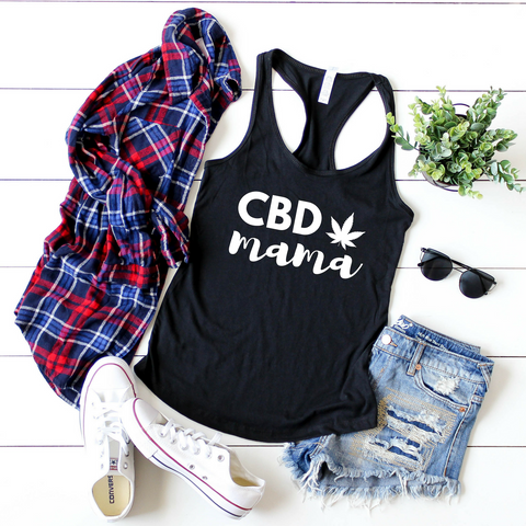 FITTED TANK + CBD MAMA