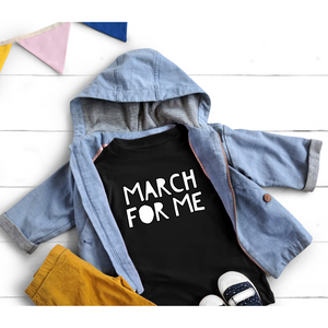 YOUTH + MILLIONS MARCH + MARCH FOR ME