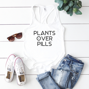 FITTED TANK + PLANTS OVER PILLS