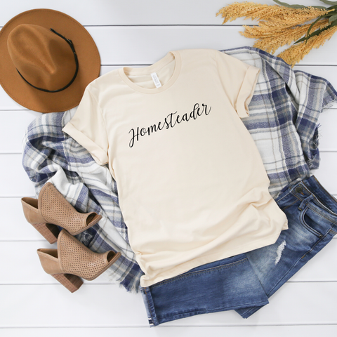 SHIRT + HOMESTEADER