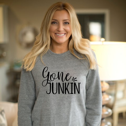 SWEATSHIRT + GONE JUNKIN