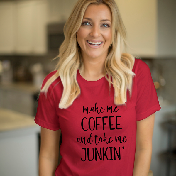 T-SHIRT + MAKE ME COFFEE